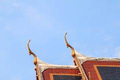 Thailändskt konsttak Royaltyfria Bilder