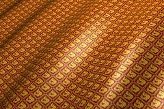 Thailändskt mönstra bakgrund. Royaltyfria Foton