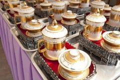 Thailändskt porslin royaltyfri bild