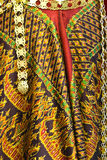 Thailändskt silke. arkivbilder