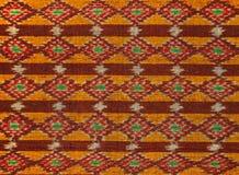 Thailändskt silke Arkivfoto