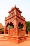 Thailändskt stilKlocka torn Arkivbild