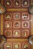 Thailändskt tak Arkivfoton