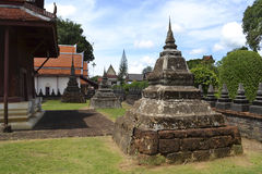 Thailändskt tempel 2. Royaltyfria Bilder
