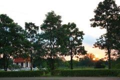 Thailändskt tempel Arkivfoton