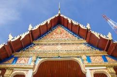 Thailändskt tempel Royaltyfria Bilder