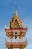 Thailändskt tempel Arkivbilder