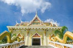 Thailändskt tempel Royaltyfri Bild