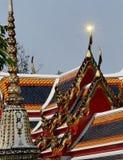 Thailändskt tempel   Royaltyfria Foton