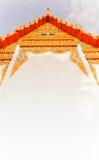 Thailändskt tempel, (det offentliga stället) Royaltyfria Bilder