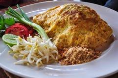 Thailändskt thailändskt mat-block Royaltyfri Fotografi