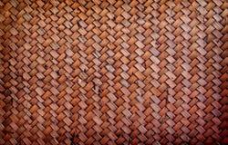 Thailändskt utforma bambubakgrund arkivbild