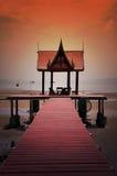Thailändskt utforma paviljongen Arkivfoton