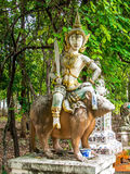 Thailändskt zodiakår Arkivbild