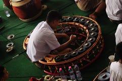 Thail αποκαλούμενο xylophone Khong vong στοκ εικόνες