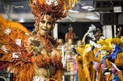 Thaila Ayala - Gaviões DA coloque - São Pablo - el Brasil - carnaval Imagenes de archivo