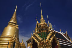 Thailabd, Bangkok, Imperial Palace. Imperial city, view of the Golden Dome Royalty Free Stock Images