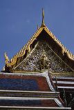 Thailabd, Bangkok, temple bouddhiste Photos stock