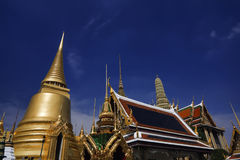 Thailabd, Banguecoque, palácio imperial Fotos de Stock Royalty Free