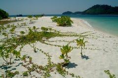 thailan andaman härligt hav för ökaikoh Royaltyfria Foton