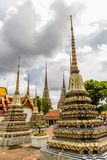 Editorial  Stupas at Wat Pho Buddhist Temple Stock Images
