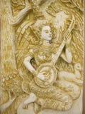 Thailand ängelkonst Royaltyfri Fotografi
