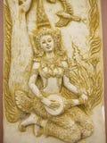 Thailand ängelkonst Arkivbild