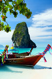 Thailand. Clear water and blue sky. Krabi province, Thailand Stock Photos