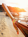 Thailand. Clear water and blue sky. Lipe island, Thailand Royalty Free Stock Photos
