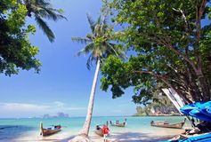 Thailand. Tropical holiday tonsi beach thailand Royalty Free Stock Images