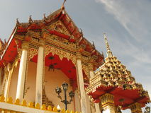 Thailand. (Temple on Patong, Phuket island Royalty Free Stock Photos