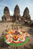 Thailand-Affe-Partei (Thailand-Affe-Buffet) Lizenzfreie Stockfotografie