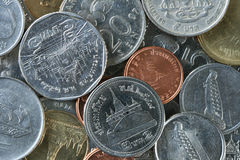 Free Thailand And Malaysian Coins Royalty Free Stock Image - 14768836