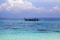 Thailand Andaman sea Royalty Free Stock Images