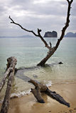 Thailand: Andaman Sea in Krabi Stock Photography