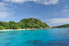 Thailand. Andaman sea. Similan. Boat Stock Photos