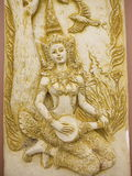 Thailand angel art stock photography
