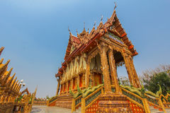 Thailand architecture. Traditional architecture, natural Ratchasima Thailand Stock Images