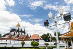Thailand Architecture in Bangkok Royalty Free Stock Photo