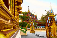 Thailand Architecture. Buddhist Pagoda At Wat Phra Yai Temple. L Stock Photography