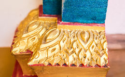 Thailand Architecture. Ornaments, Decorations, Travel To Asia Stock Photo