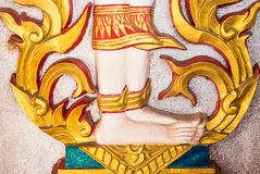 Thailand Architecture. Ornaments, Decorations, Travel To Asia Stock Image