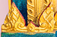 Thailand Architecture. Ornaments, Decorations, Travel To Asia Stock Photography
