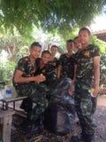 Thailand armé Arkivbilder