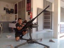 Thailand armé arkivfoton