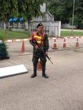 Thailand armé arkivbild