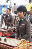 Thailand Army music band Royalty Free Stock Images