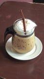 Thailand-Art gefror Kaffee Lizenzfreie Stockfotografie