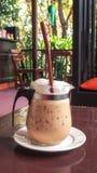 Thailand-Art gefror Kaffee Stockbilder