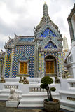thailand asia   in      bangkok rain  temple abstract potter Royalty Free Stock Photo